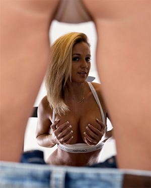 Nikki Sims Mirror Stripping