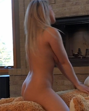 Nikki Sims Bear Ride Video
