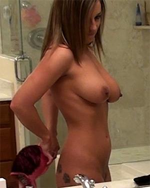 Nikki Sims Changing Nude Video