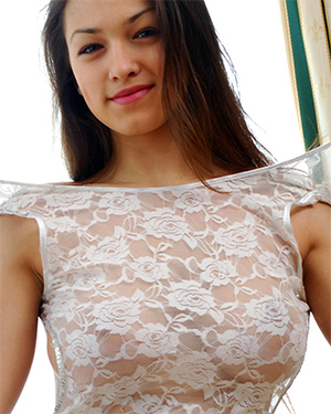 Sofi Sheer Dress for Met Art