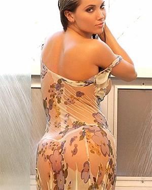 Stephanie Larimore Steamy Shower