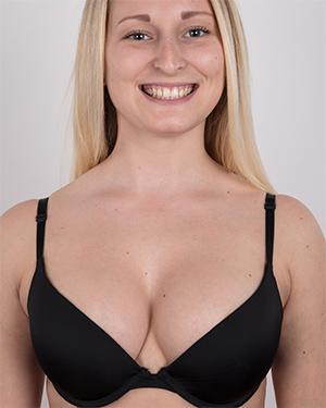 Tereza Perky Blonde Czech Casting